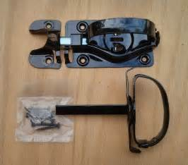 Barn Door Latch Types Whitcomb Barn Door Latch For Swinging Door Shed Black Latch With D Handle Ebay