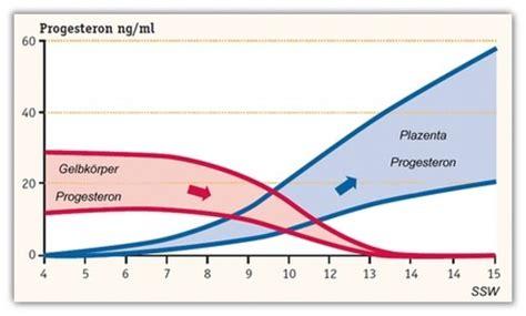 ab wann symptome schwangerschaft progesteron ab wann 252 bernimmt die plazenta