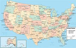 usa map - Bing images