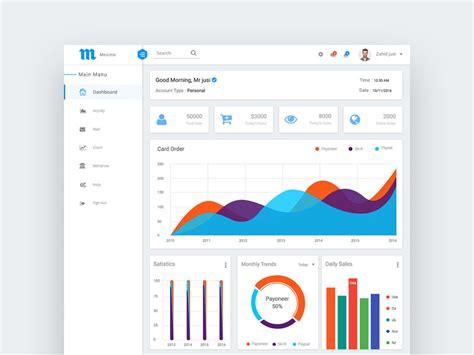 material design header psd meximo material design admin dashboard psd freebie