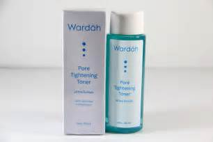 Rangkaian Wardah Acne Series Dan Harga wardah pore tightening toner toko kecantikan dan