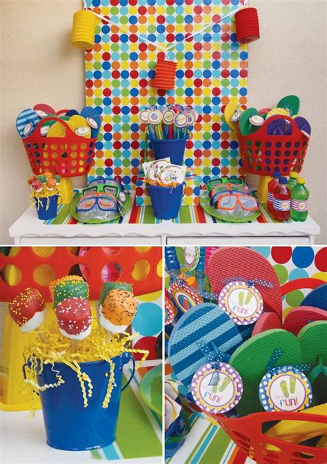 themed parties for summer school s out summer pool party ideas summer pool