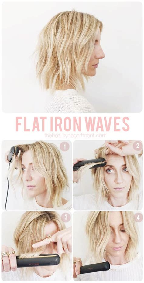beach waves hair tutorial curling wand perfect victoria mapping out flat iron waves flat iron waves flat iron