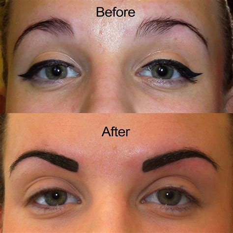 tattooed on eyebrows eyebrows are magic the secrets info and