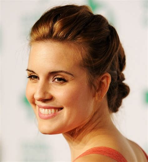 maggie grace intricate braided updo hairstyle hairstyles weekly