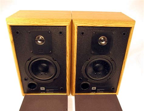 vintage jbl 2500 2 way bookshelf speakers titanium tweeter