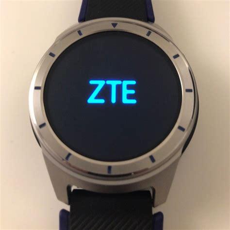 Smartwatch Zte Zte S Android Wear Smartwatch Pictured Up