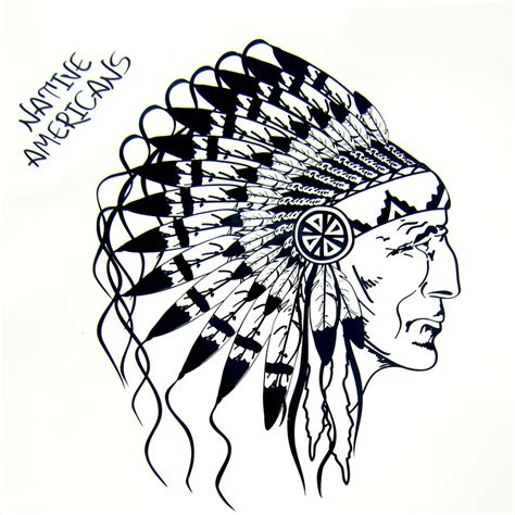 aliexpress com buy 1pcs fake tatoo native american