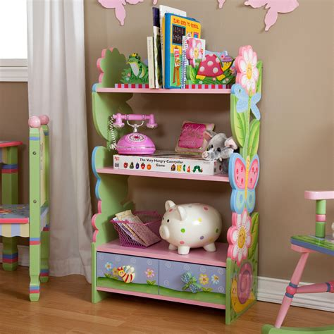 kid book shelves fields magic garden bookcase bookcases at