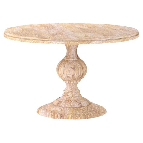 white wash dining table frida country white wash wood dining table