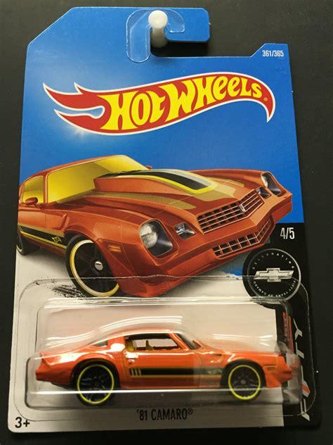 Hotwheels Camaro Series wheels 81 chevrolet camaro fifty s series