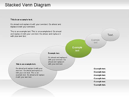 stacked diagrams for powerpoint stacked venn diagram for powerpoint presentations