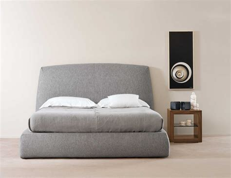leather upholstered bed lofficina upholstery furniture nella vetrina