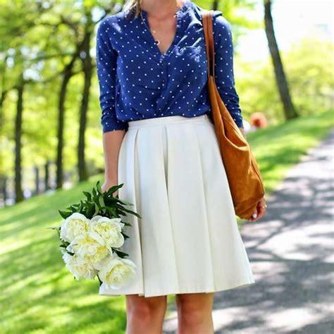 imagenes faldas blancas c 243 mo combinar una falda blanca 7 pasos con im 225 genes