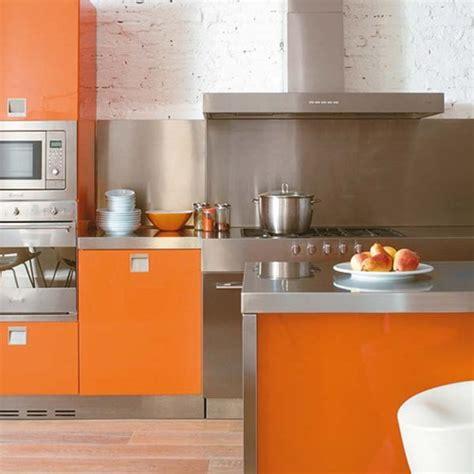 cucina arancione l arancione in cucina arredare con il colore sole