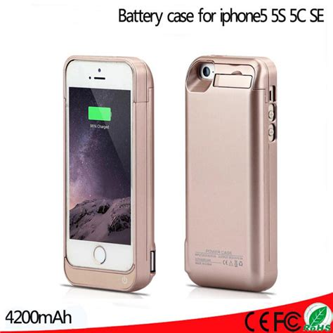 Sale Power 4200mah For Iphone 5 5c 5s Xs267 4200mah charging for iphone 5 5s 5c se extended rechargeable battery charger power