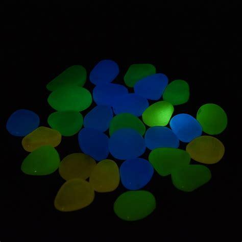 glow in the jakarta batu hias dekorasi glow in the 100pcs multi color