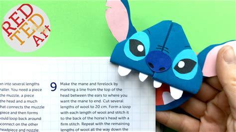 stitches diy easy stitch bookmark corner diy bookmark ides