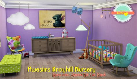 baby betten set awesims broyhill nursery conversion by loree teh sims