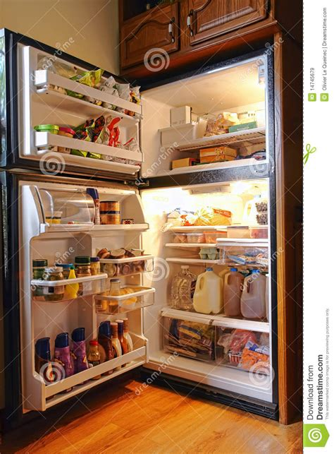 Coldest Shelf In Refrigerator by Cold Refrigerator Of Fresh Food And Groceries Royalty