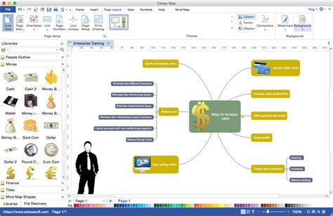 mac diagramming software mac diagram software edraw max for mac