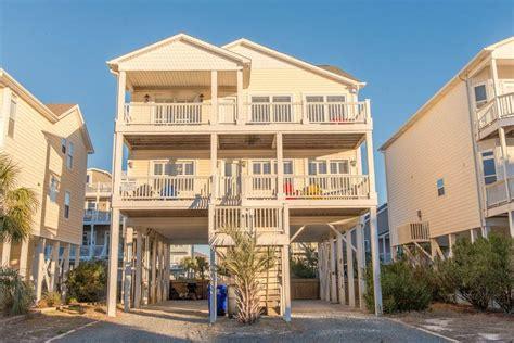 Ocean Isle Beach House Rentals 245e1 Second Row House Houses For Rent Isle Nc