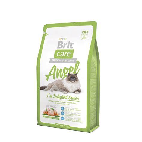 Makanan Kucing Premium Brit Care For Sterilised Cat brit care i m delighted senior 2kg premium hypoallergenic makanan kucing senior