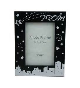 Party plus picture frames black 4x6 prom picture frame