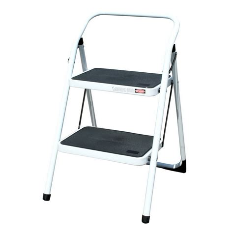 Lowes Step Stool by Shop Buffalo Tools 2 Step Steel Step Stool At Lowes
