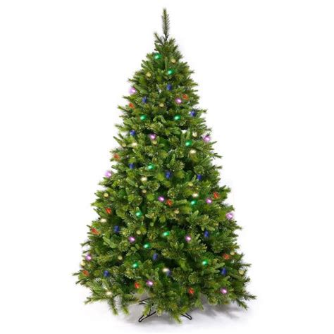 Sears Artificial Trees Prelit - 6 5 pre lit mixed pine artificial tree