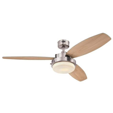 westinghouse castle ceiling fan westinghouse castle 52 in brushed nickel ceiling fan