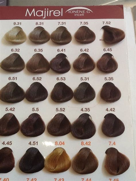majirel hair color chart by loreal 13 best coloration l or 233 al majirel images on 7 best loreal majirel images on hairdos colour chart and hair color