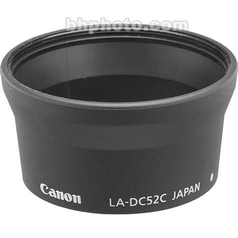 canon la dc52c lens adapter for a60 a70 a75 a85 8485a001