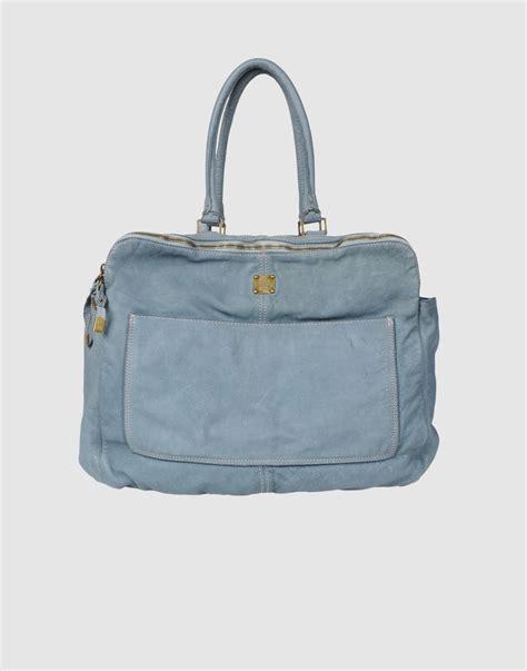 Sissi Rossis Shoulder Bag by Sissi Large Leather Bag In Blue Black Lyst