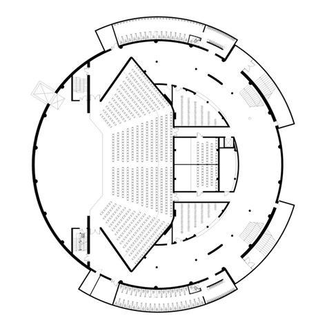 concert hall floor plan palanga concert hall uostamiescio projektas archdaily