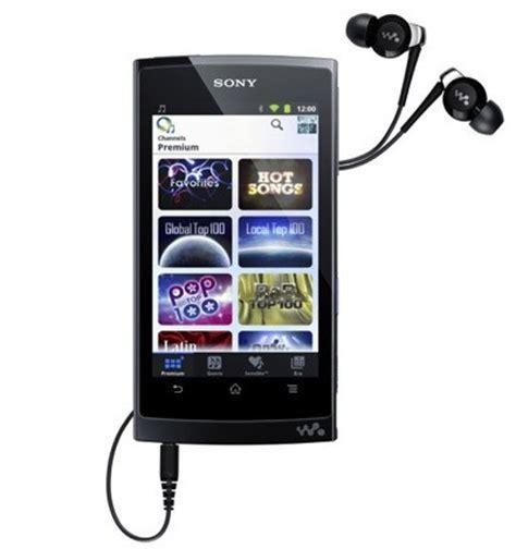 sony introduces walkman z portable media player