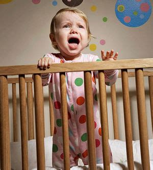 One Year Wont Sleep In His Crib by Slumber Crasher Teach Baby To Sleep Through The