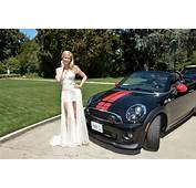 2014 Playmate Of The Year Gets MINI Roadster From Playboy
