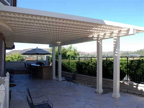 Patio Louvres by Vinyl Louvered Patio Cover Design Ideas Pictures Vinyl