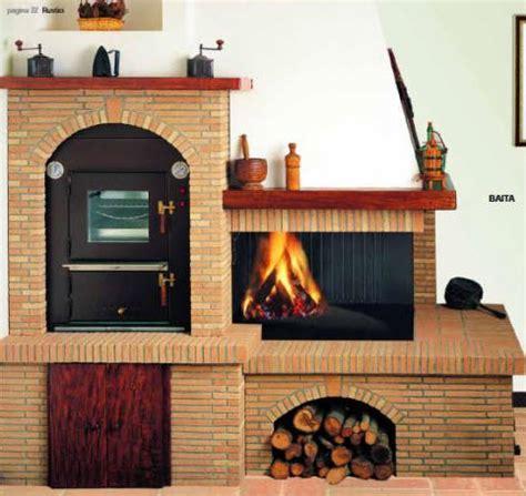 camini rustici con forno a legna forni camini ristrutturazioni edili