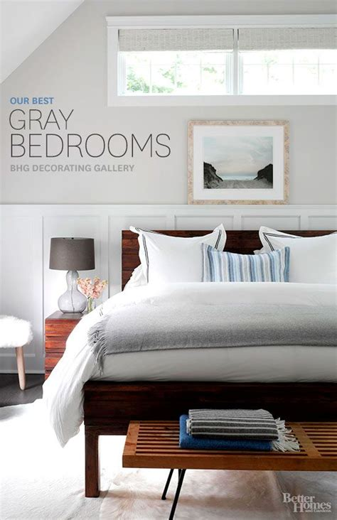 better homes and gardens bedrooms the best decorating inspiration for gray bedrooms from
