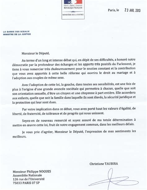 Exemple De Lettre D Invitation Au Ministre mariage pour tous enfin philippe nogu 232 s une voix de