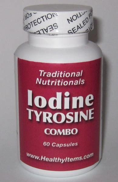 Iodine Detox Weight Gain by Iodine Tyrosine Combo Healthy Items