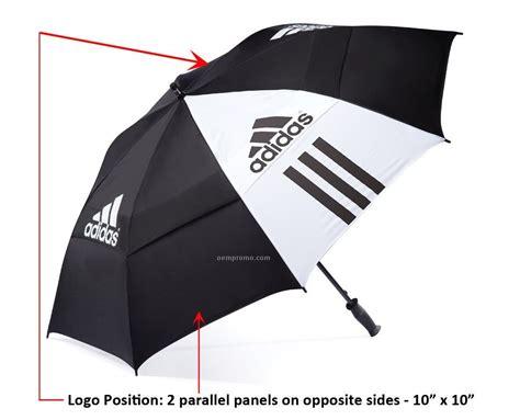 Adidas Umbrella Limited by Adidas 64 Quot Canopy Auto Open Umbrella 2011 1
