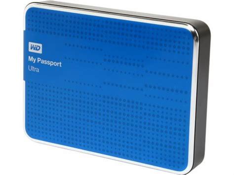 Ext Hdd 1tb Ultra western digital hdd ext my pass ultra 1tb 2 5 usb3 blue