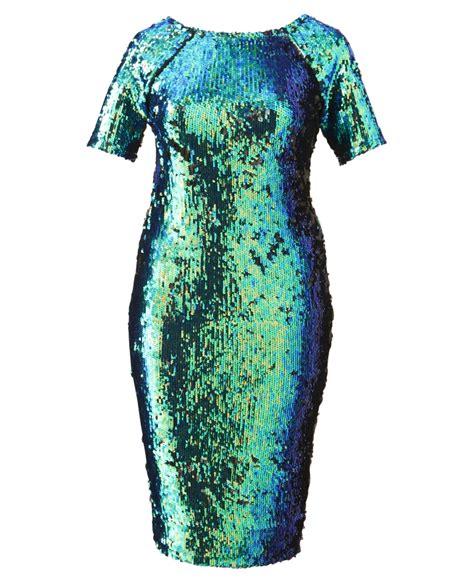 Dress Sequen plus size sequin bodycon dress stylish dress