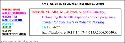 apa format link reference apa style understanding doi identifiers to cite online
