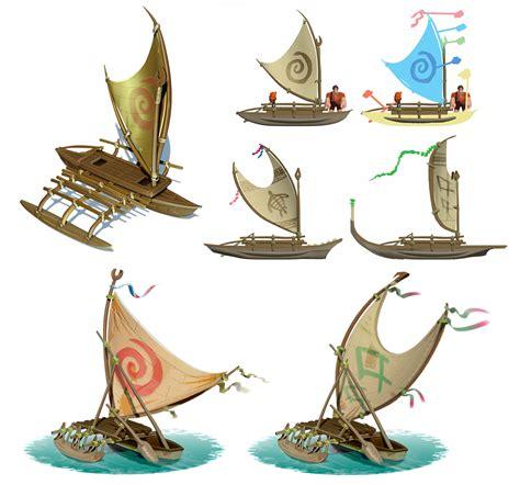 moana outrigger boat damian buzugbe moana world design disney infinity 3 5