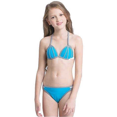 junior nudistjunior nudis 2018 girls kids halter micro bikini set swimsuit beach