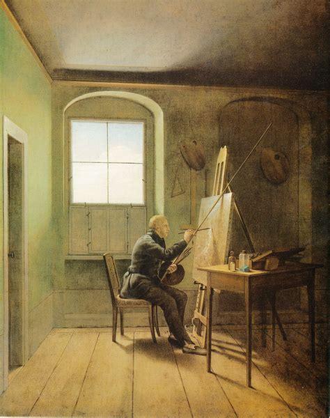 Painting M D F by Fichier Kersting Caspar David Friedrich In Seinem